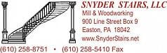 Snyder Stairs logo