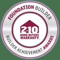 Foundation Builder Achievement Award