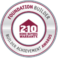 Foundation Builder Achievement Award