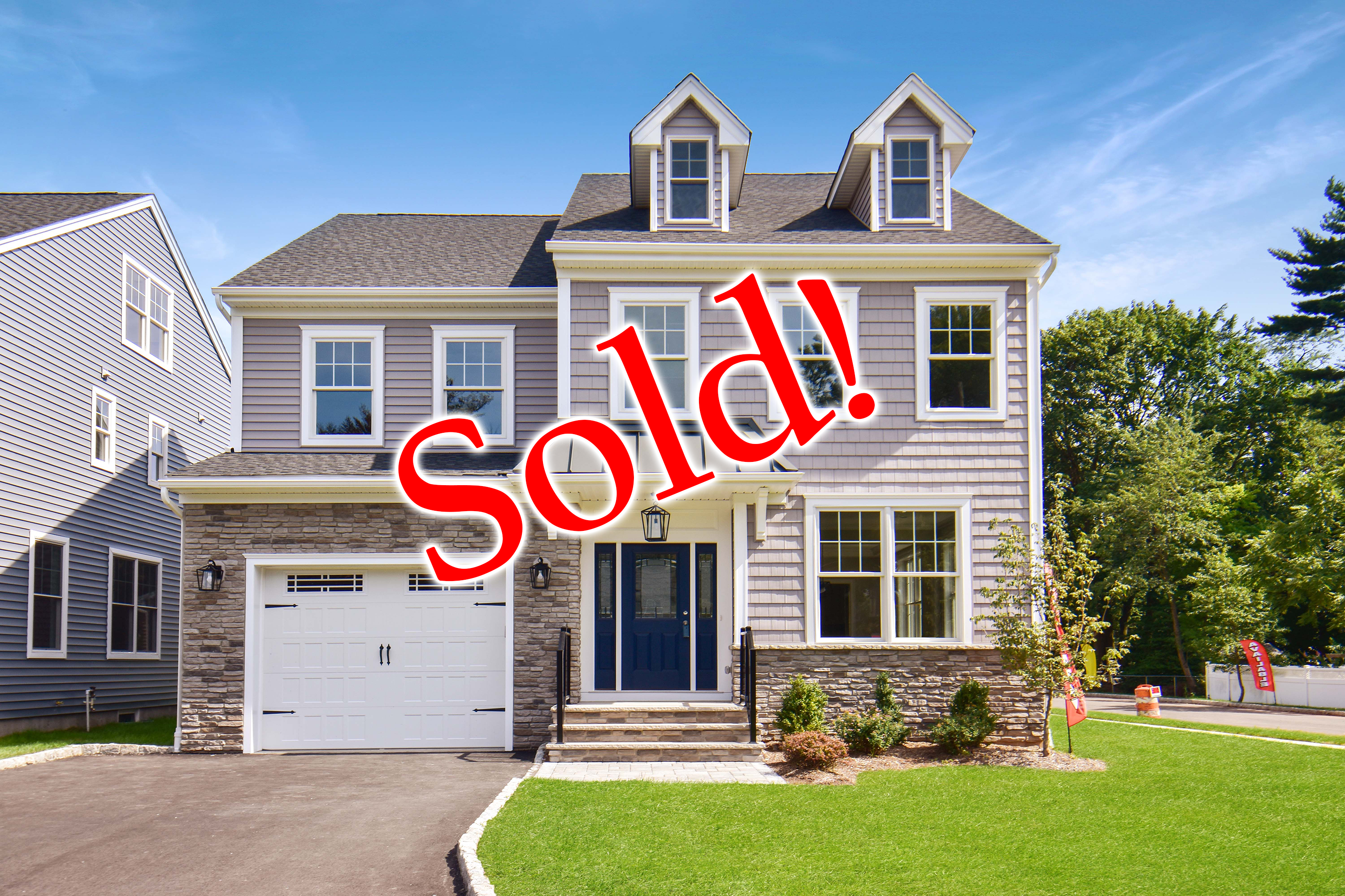 2216 Westfield Avenue Scotch Plains NJ New Home SOLD