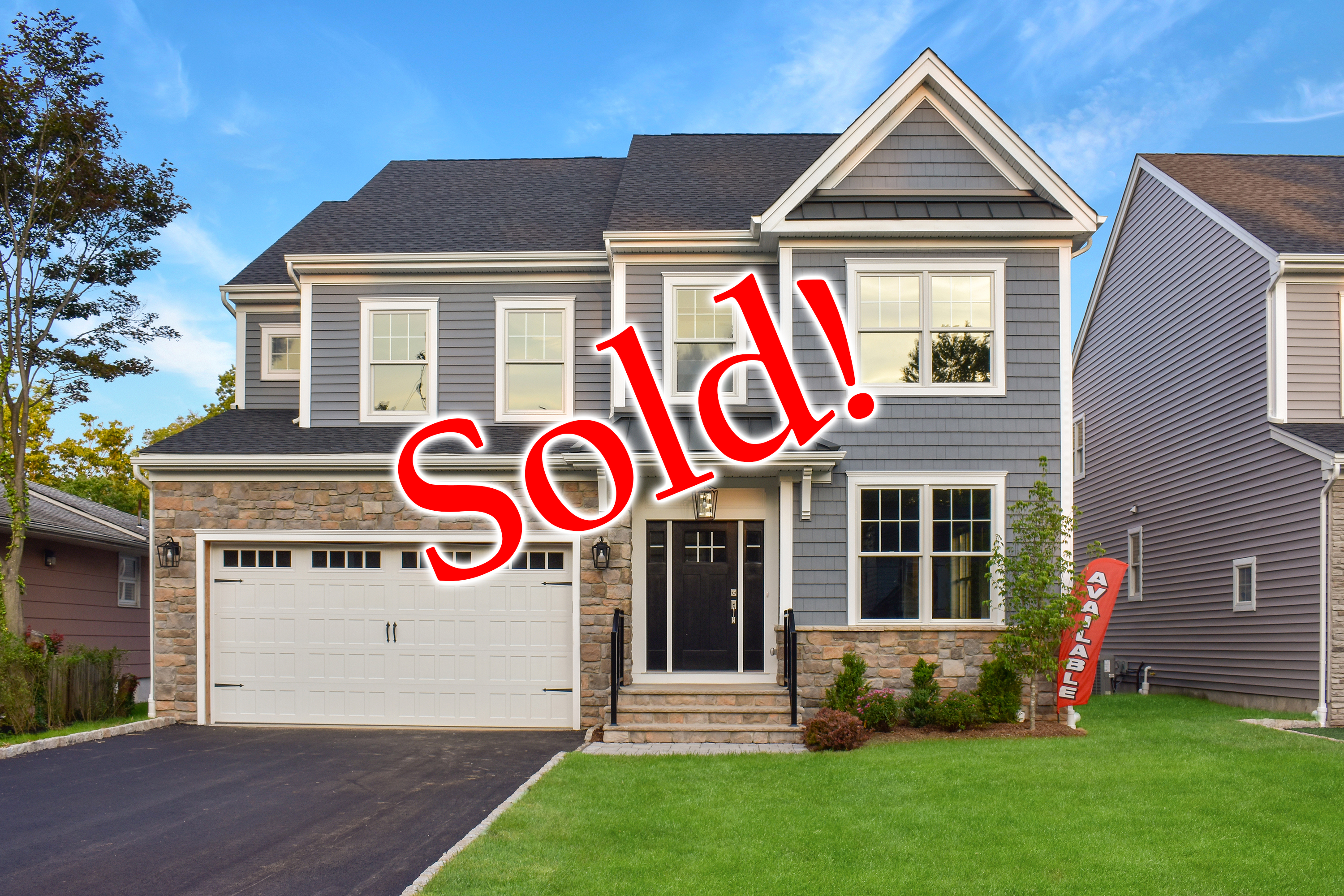 2222 Westfield Avenue Scotch Plains NJ New Home SOLD