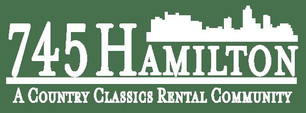 745 Hamilton Logo HORIZONTAL WHITE