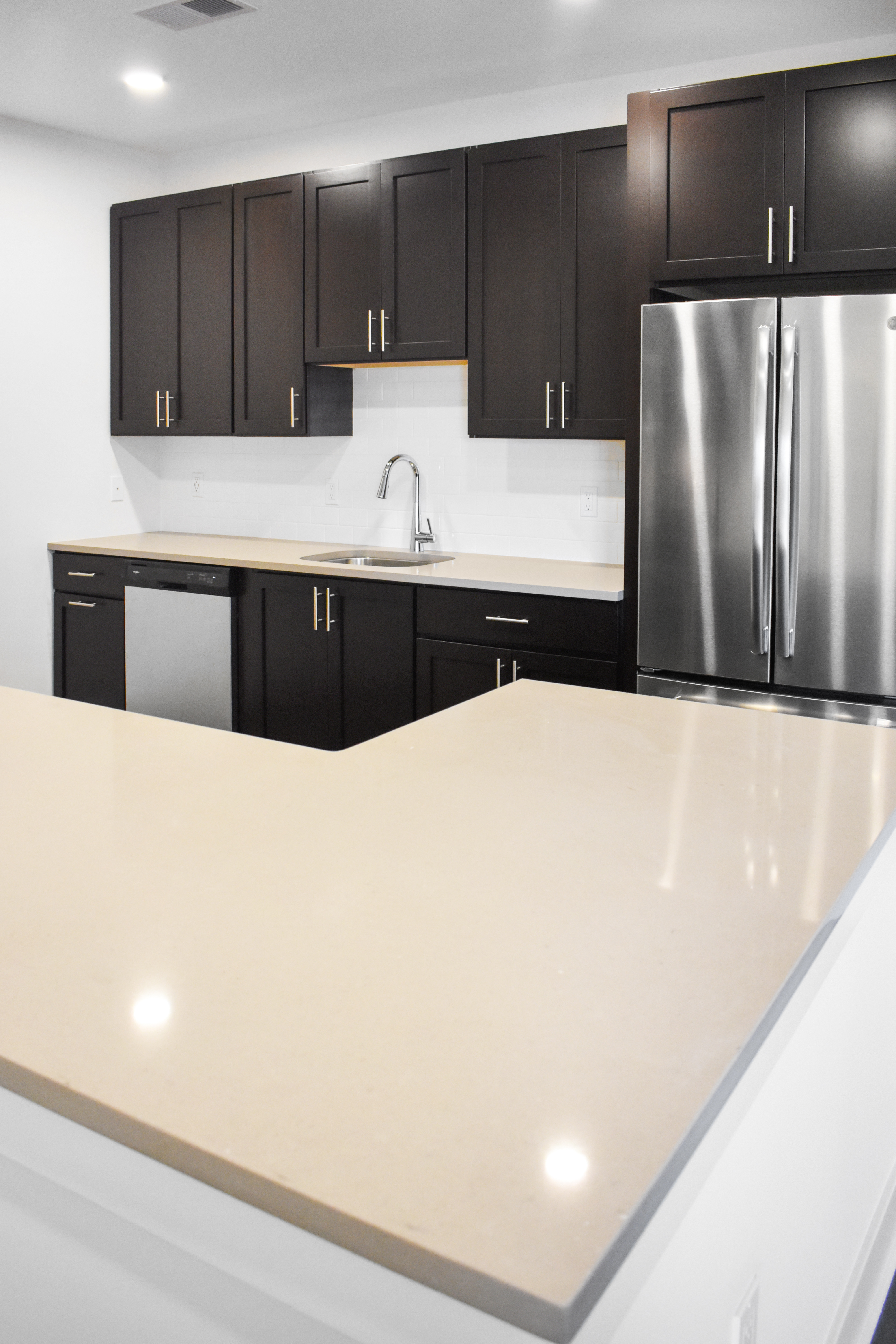 745 Hamilton New Apartments Kitchen Countertop Somerset New Jersey