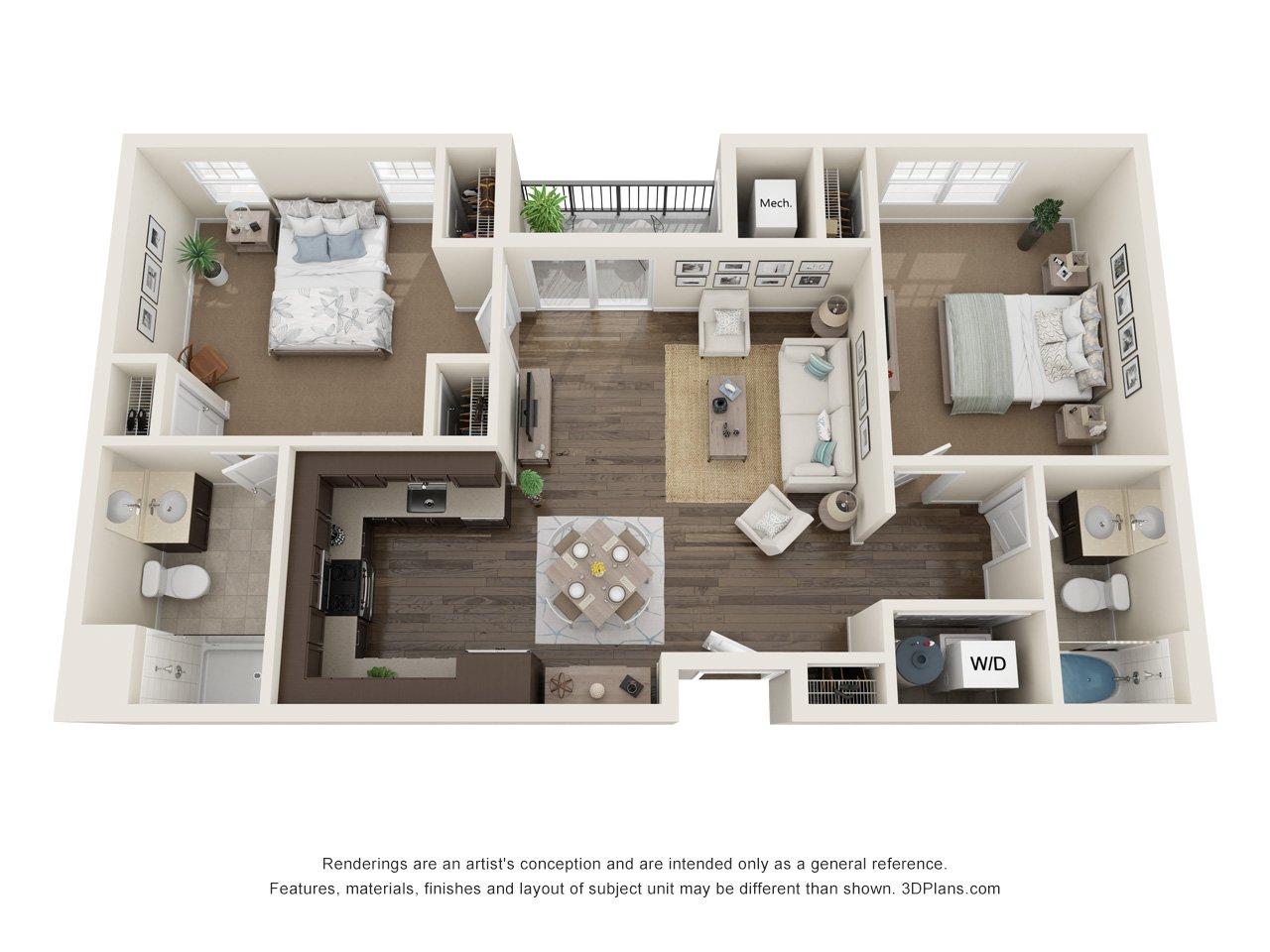 745 Hamilton Floor Plan A