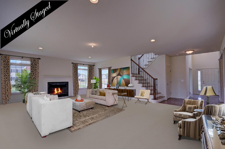 Arlington Home Family Room