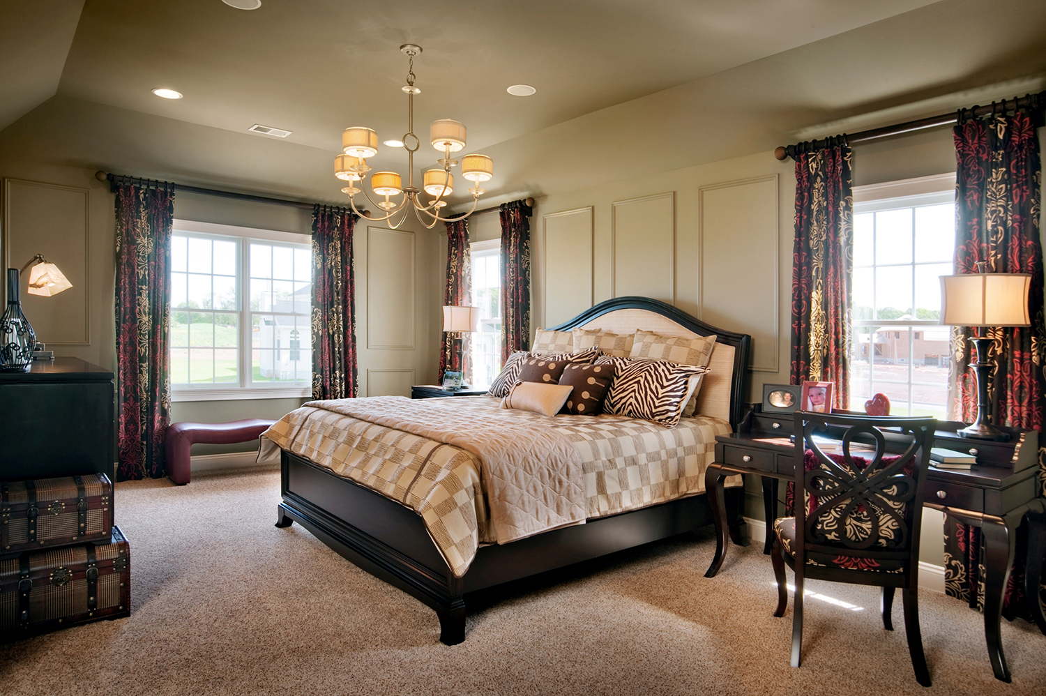 Country Classics at Hillsborough Master Bedroom
