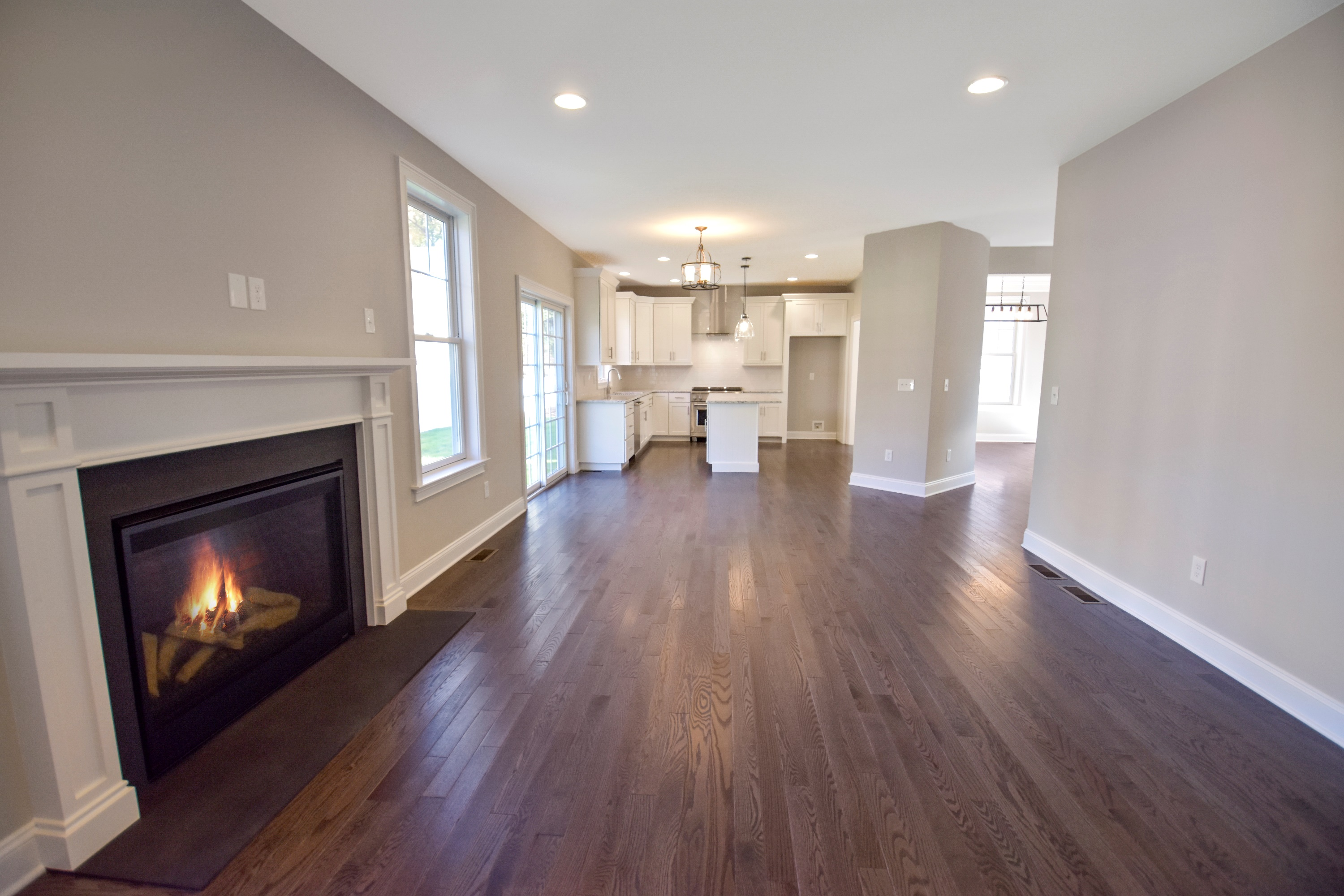 Country Classics at Scotch Plains 603 Taylors Way Family Room Kitchen