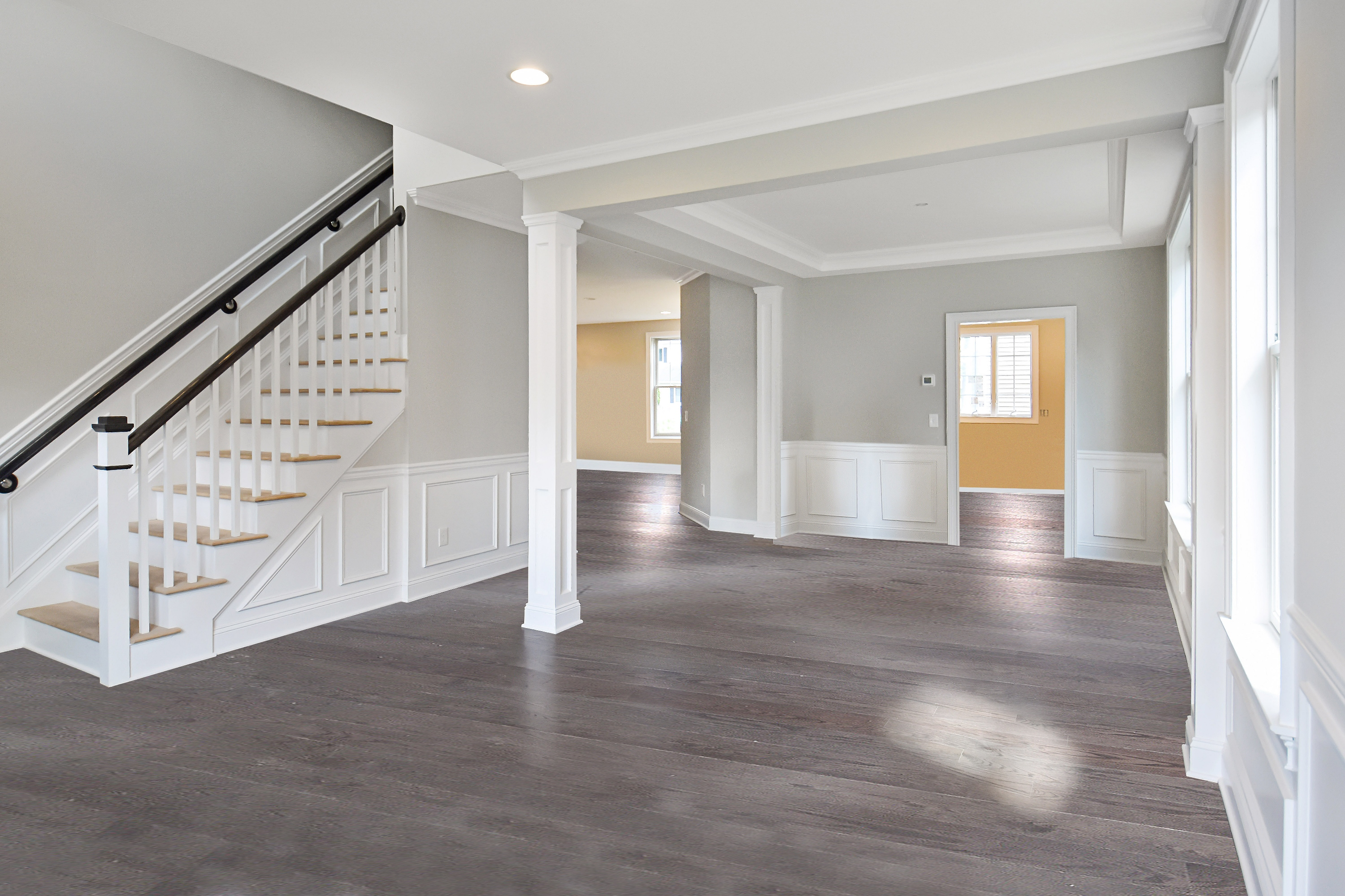 Country Classics at Scotch Plains New Home Living Room Dining Room-1