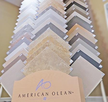 American Olean Tile Samples
