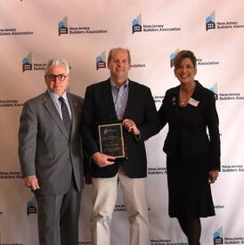 NJBA Builder Continuing Service Award Scott Van Cleef